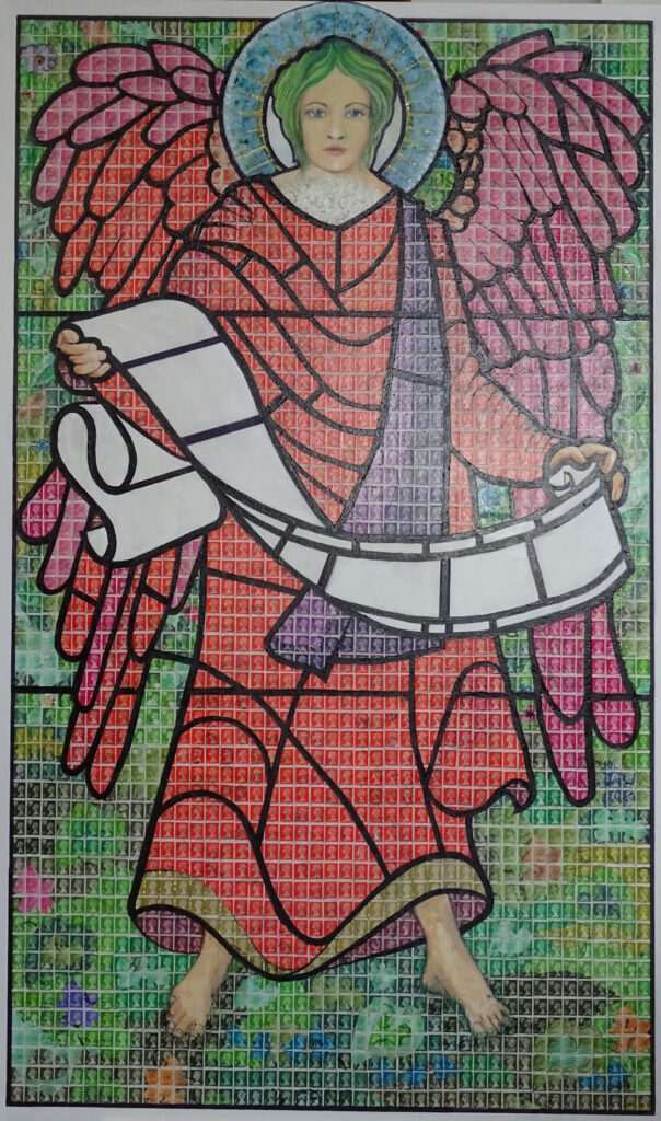 Angel with a Scroll - Latest