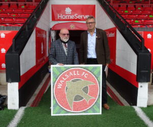 Chairman of Walsall FC - Leigh Pomlett